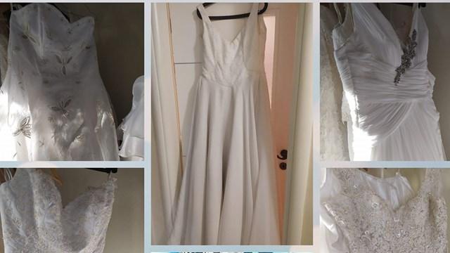 Εκποίηση νυφικών και φορεμάτων σε χαμηλές τιμές