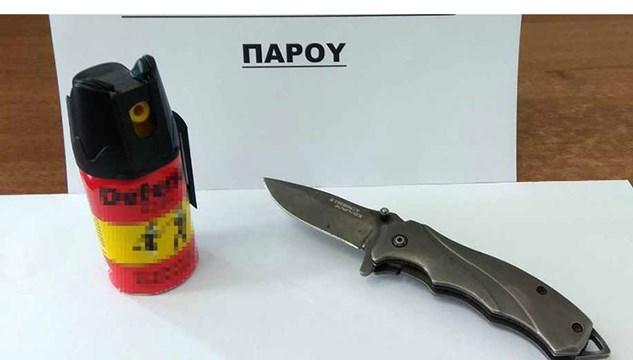 Σύλληψη για οπλοκατοχή στην Πάρο
