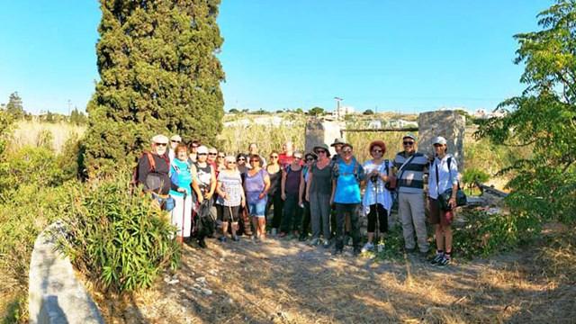 Πρόγραμμα περιπατητικών διαδρομών της Ομάδας Πεζοπόρων Σύρου Οκτωβρίου