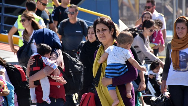 Εντοπίστηκαν 13 πρόσφυγες στην Τήνο