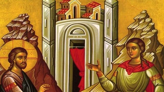 Κυριακή της Σαμαρείτιδος (Ιωάννου 4, 5-42)