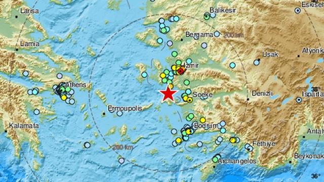 Ισχυρός σεισμός έγινε αισθητός και στη Σύρο