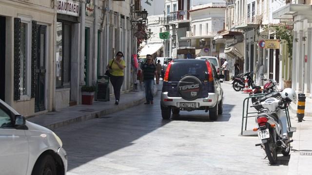 Ενημερωτική συνάντηση για την αναβάθμιση των εμπορικών δρόμων της Ερμούπολης