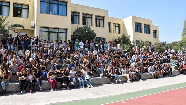 Αγιασμός στα σχολεία της Σύρου