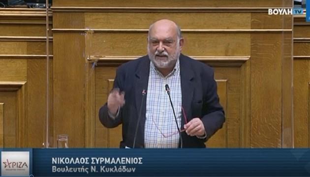 Τήνος: Αναφορά του Νίκου Συρμαλένιου για έκτακτη χρηματοδότηση λόγω λειψυδρίας