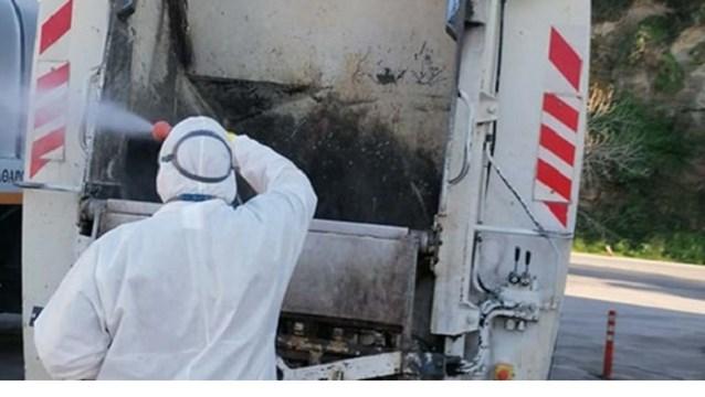 Ξεκινά η απολύμανση στους κάδους καθαριότητας της Σύρου