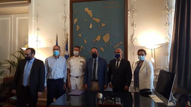 Σύρος: Προς δρομολόγηση σημαντικών θεμάτων που άπτονται του Υπουργείου Ναυτιλίας