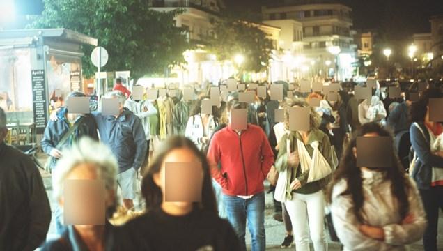 Τήνος: Πορεία διαμαρτυρίας πολιτών για το θέμα των ανεμογεννητριών