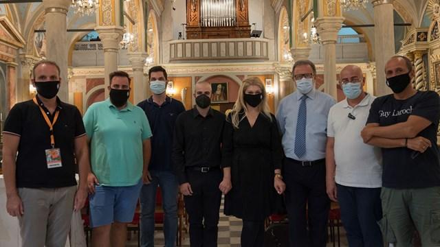 Ολοκληρώθηκε με επιτυχία το 5ο Διεθνές  Φεστιβάλ Εκκλησιαστικού Οργάνου «ΑΝΩ»