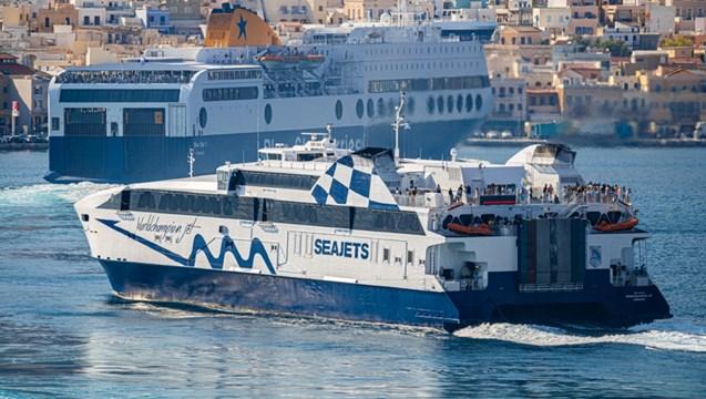 """WorldChampion Jet"":  Ξεκινά δρομολόγια στη γραμμή Πειραιάς, Σύρος, Μύκονος, Νάξος και Σαντορίνη"