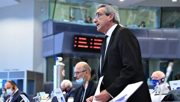 """Γιώργος Χατζημάρκος: """"Τα νησιά μας διεκδικούν τον δικό τους διακριτό χώρο στην Ευρωπαϊκή Πράσινη Συμφωνία"""""""