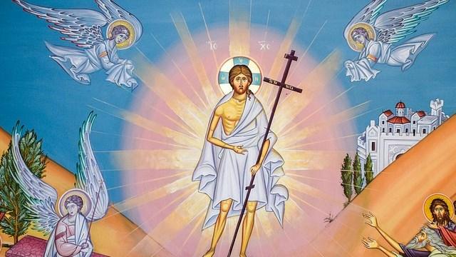 Η υπό του Ιησού ανάσταση του γιου της χήρας στη Ναΐν (Λουκ. 7, 11-16)
