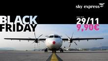 Black Friday στα ουράνια!  Μόνο για 1 μέρα, πτήσεις από 9,90€