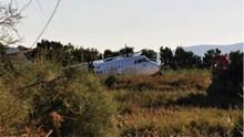 Νάξος: Αεροσκάφος βρέθηκε σε χαντάκι - Κλειστό το αεροδρόμιο
