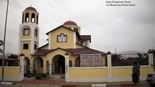 Πρόοδος των εργασιών της κατασκευής δύο ναών της Ι.Ε.Μπραζαβίλ