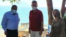 Στην Αμοργό, ο Πρέσβης των ΗΠΑ στην Ελλάδα, κ. Τζέφρι Πάιατ