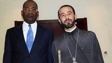Συνάντηση του Επισκόπου με τον υπουργό Δικαιοσύνης