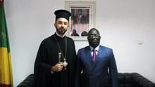 Συνάντηση του Επισκόπου Μπραζαβίλ με τον κυβερνήτη του Pointe-Noire