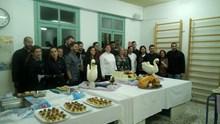 Το Δ.ΙΕΚ Σύρου έκοψε την πρωτοχρονιάτικη πίτα του