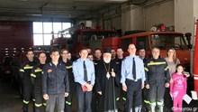 Επίσκεψη του Μητροπολίτη κ.Δωροθέου Β' στην Πυροσβεστική Υπηρεσία