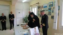 Ο Μητροπολίτης Σύρου στην Πολεμική Ναυτική Βάση