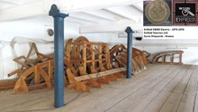 Τα χαμένα ξύλινα καλούπια και μοντέλα που χρησιμοποιήθηκαν για την κατασκευή του ηλεκτρικού αυτοκίνητου της Σύρου Enfield 8000