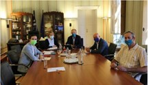 Στο Επιμελητήριο ο επικεφαλής του Γραφείου του Ευρωπαϊκού Κοινοβουλίου στην Ελλάδα