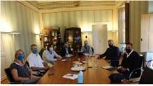Συνάντηση εργασίας μεταξύ του Επιμελητηρίου Κυκλάδων και του Γενικού Γραμματέα του ΕΟΤ
