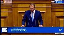 Απάντηση του Υπουργού Εσωτερικών στο ερώτημα για την αντιπλημμυρική προστασία της Άνδρου