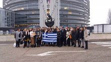 Το ΓΕΛ και το ΕΠΑΛ Σύρου σε ειδική Συνεδρίαση του Ευρωπαϊκού Κοινοβουλίου