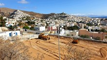 Προχωρά η κατασκευή γηπέδου 5χ5 στην περιοχή Καμίνια