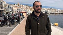 Στην Σύρο ο βουλευτής Μαγνησίας της Χρυσής Αυγής, Παναγιώτης Ηλιόπουλος