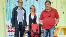 Ειδικό βοηθητικό κάθισμα για το Ειδικό Νηπιαγωγείο Ερμούπολης