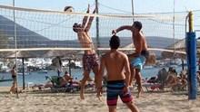 Ολοκληρώθηκε το 5ο τουρνουά BEACH VOLLEY στην Κύνθο