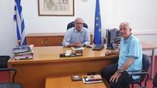 Συνάντηση Λεονταρίτη με τον Χαράλαμπο Δαρζέντα