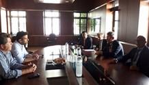 «Η Αμερικανική κυβέρνηση στηρίζει το επενδυτικό ενδιαφέρον για το Νεώριο»