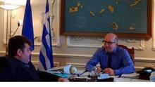 Συνάντηση με τον Δήμαρχο Σερίφου