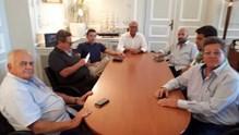 """Συνάντηση του Αντιπεριφερειάρχη Κυκλάδων, με τους πλοιοκτήτες της """"Golden Star Ferries"""""""