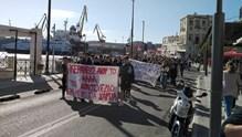 Πορεία μαθητών στη Σύρο
