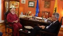 Συνάντηση του Αμερικανού Πρέσβη με τον Μητροπολίτη Σύρου