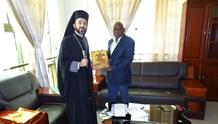 Συνάντηση με τον κυβερνήτη περιφέρειας Bouenza