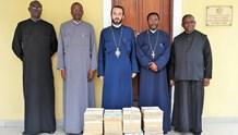 Σύσκεψη εφημεριών στην Ιερά Επισκοπή Μπραζαβίλ
