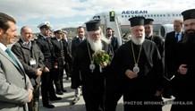 Έφτασε στην Μύκονο ο Αρχιεπίσκοπος Ιερώνυμος