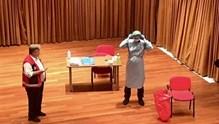 Ασκήσεις ετοιμότητας για τον κορωνοϊό στη Μύκονο