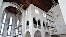 Συνεχίζονται οι εργασίες στον Ναό Αγίου Δημητρίου Pointe-Noire