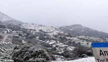 Νάξος: Προβλήματα στα ορεινά του νησιού από την κακοκαιρία