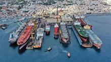 """Νεώριο: """"Ποδαρικό"""" με 10 πλοία να εξυπηρετούνται ταυτοχρόνως"""