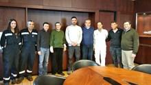 Επίσκεψη του Αθανάσιου Μαρτίνου στο Νεώριο