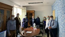 Προσφορά είκοσι ζευγαριών οράσεως τεχνολογίας Anti Fog, στο νοσοκομείο Σύρου
