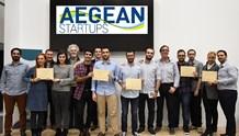 Οι νικητές του διαγωνισμού και οι νέοι ερευνητές του Πανεπιστημίου Αιγαίου